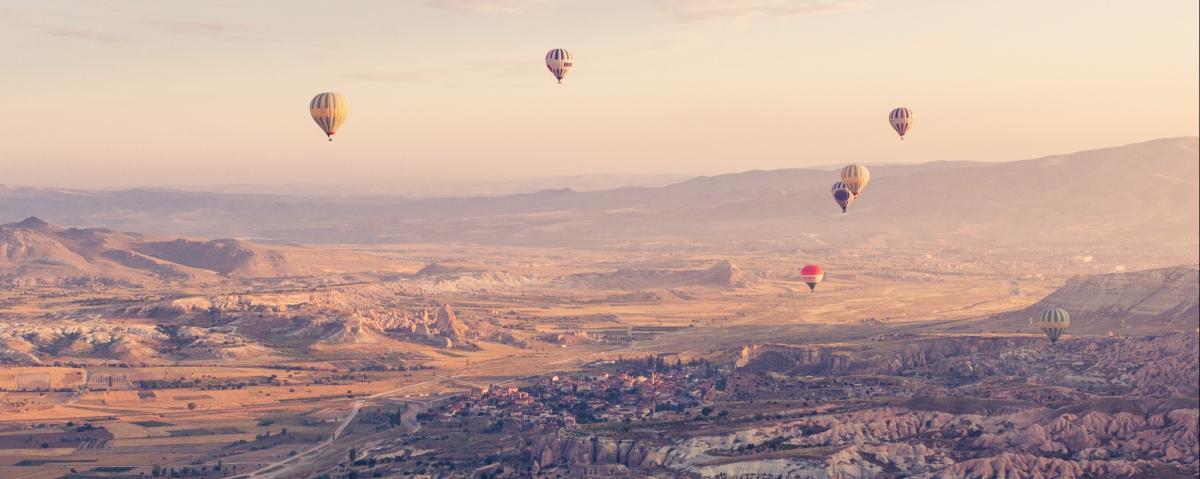 L'ammiraglia viaggi vi porta in Cappadocia